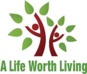 A Life Worth Living logo