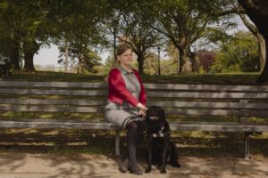 Chancey Fleet, a technology educator who is vice president of National Federation of the Blind