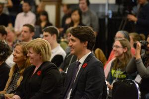 Picture of Justin Trudeau.