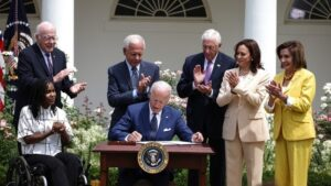 Picture of president Joe Biden.