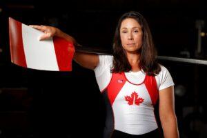 Victoria Nolan in athletic uniform