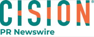 Picture of the Cision PR Newswire logo.